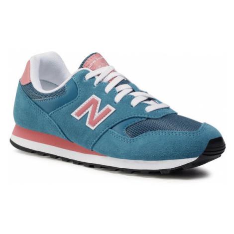 New Balance Sneakersy WL393RJ1 Niebieski