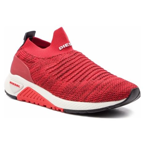 Sneakersy DIESEL - S-Kb Athl Sock Y01881 P2199 T4041 Mars Red