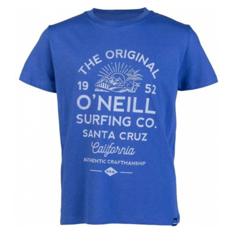 O'Neill LB THE ORIGINAL S/SLV T-SHIRT niebieski 128 - Koszulka chłopięca