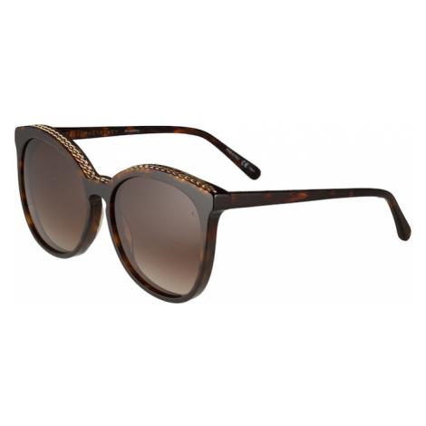 Stella McCartney Okulary przeciwsłoneczne 'SC0074S 59 Sunglass WOMAN BIO ACETAT' brązowy