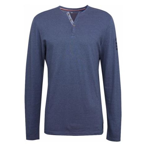 TOM TAILOR Koszulka nakrapiany niebieski