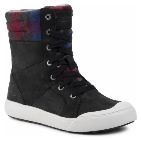 Botki KEEN - Elena Boot 1022039 Black/Plaid
