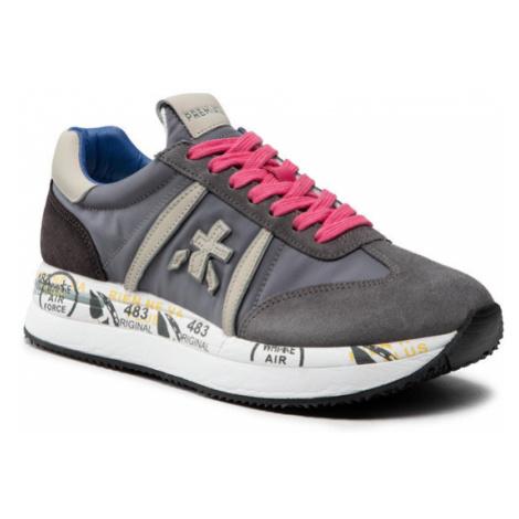 Premiata Sneakersy Conny 5201 Szary