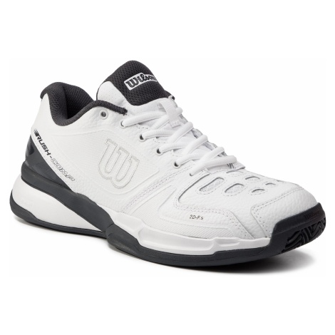 Buty WILSON - Rush Comp Ltr Clay Court WRS325220 White/White/Ebony