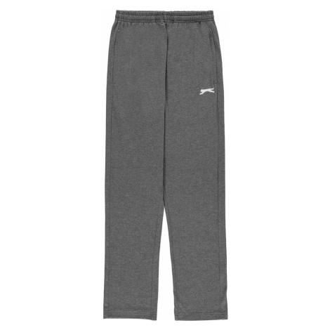 Szare dziewczęce sportowe spodnie