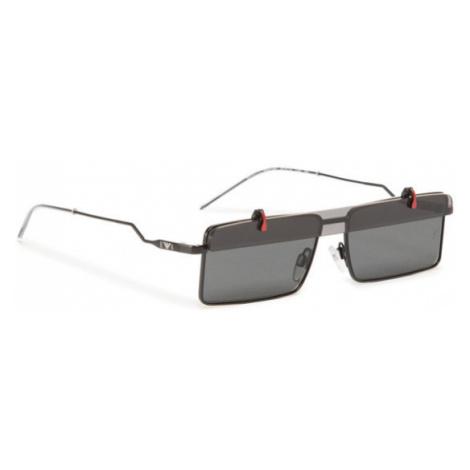Emporio Armani Okulary przeciwsłoneczne 0EA2111 300187 Czarny