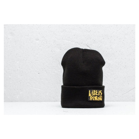 Life Is Porno Taxi Driver Beanie Black/ Yellow