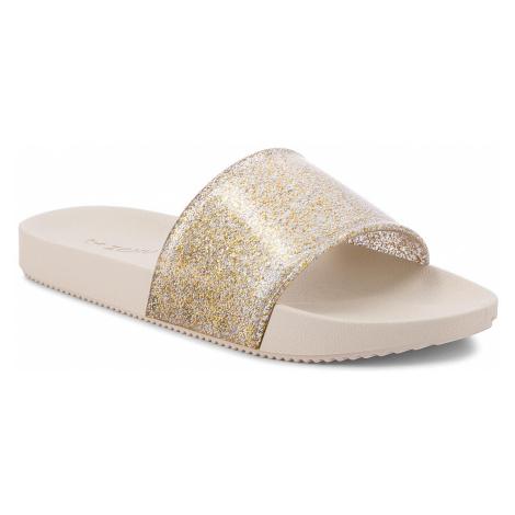 Klapki ZAXY - Snap Glitter Slide Fem 82440 Złoty Brokat 90287 AA285108 02064