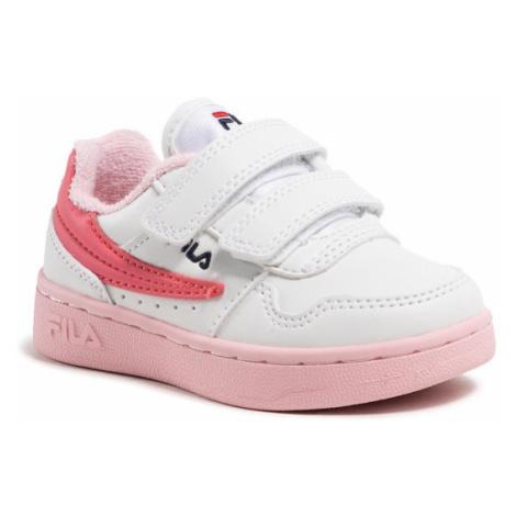 Fila Sneakersy Arcade Velcro Infants 1011078.94F Biały