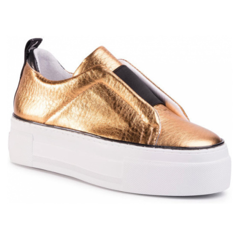 Togoshi Sneakersy TG-13-04-000223 Złoty