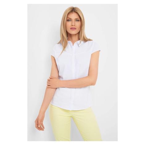 Taliowana koszula w kropki Orsay