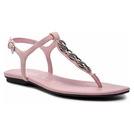 Sandały CALVIN KLEIN - Silva E8914 Pastel Pink