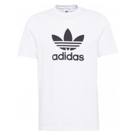 ADIDAS ORIGINALS Koszulka 'Trefoil' czarny / biały
