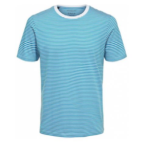 SELECTED HOMME Koszulka błękitny / biały