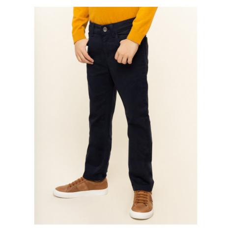 Mayoral Spodnie materiałowe 51 Granatowy Regular Fit