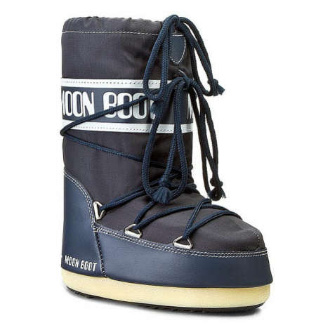 buty Tecnica Moon Boot Nylon - Denim Blue