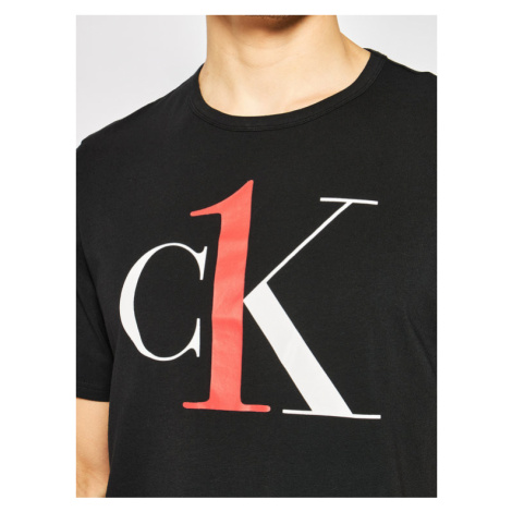 Calvin Klein Underwear T-Shirt 000NM1903E Czarny Regular Fit