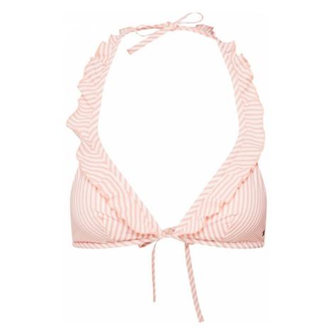 Tommy Hilfiger Underwear Góra bikini różowy pudrowy / biały