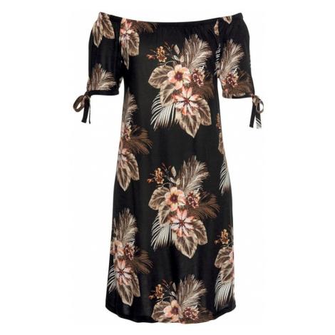 BEACH TIME Sukienka plażowa jasny beż / brązowy / rdzawobrązowy / czarny Beachtime