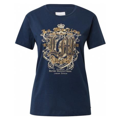 La Martina Koszulka granatowy / ciemnoszary / złoty / beżowy