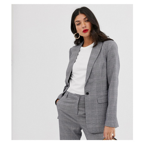 Y.A.S Tall Thesis check co-ord blazer