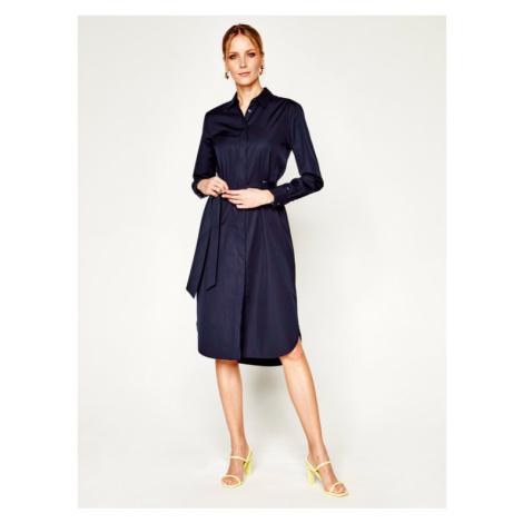 Tommy Hilfiger Sukienka koszulowa Essential WW0WW27896 Granatowy Regular Fit