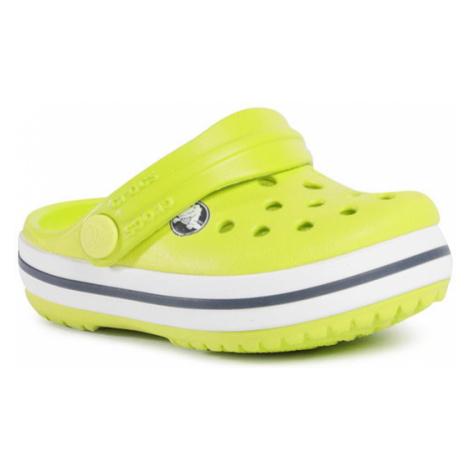 Crocs Klapki Crocband Clog K 204537 Zielony