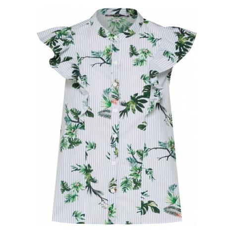 LTB Bluzka trawa zielona / biały
