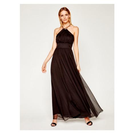 Marciano Guess Sukienka wieczorowa Crinkle Chiffon 02G769 9277Z Czarny Regular Fit