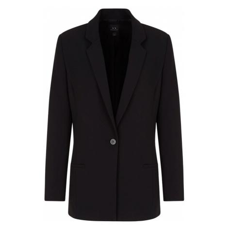 Long black blazer Armani