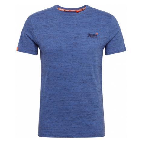 Superdry Koszulka 'OL VINTAGE EMBROIDERY TEE' niebieski