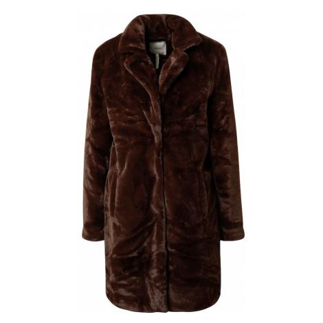 OBJECT Płaszcz przejściowy ciemnobrązowy
