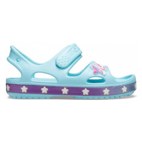 Sandały Crocs Fun Lab Unicorn Band Sandal 206366 ICE BLUE