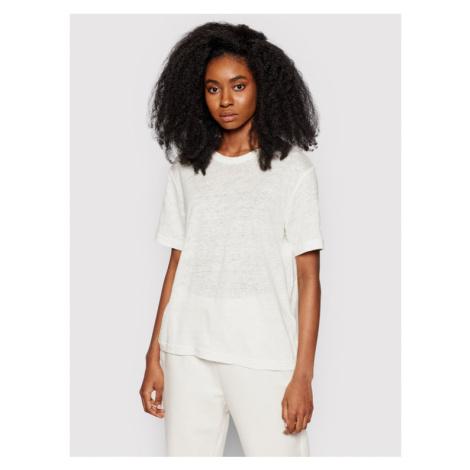 Samsøe Samsøe T-Shirt Doretta F20300138 Biały Relaxed Fit