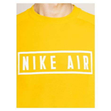 Nike Bluza Air BV5156 Żółty Loose Fit