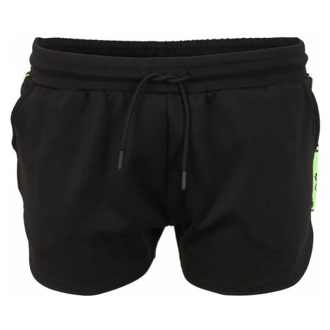 HIIT Spodnie sportowe czarny / neonowa zieleń