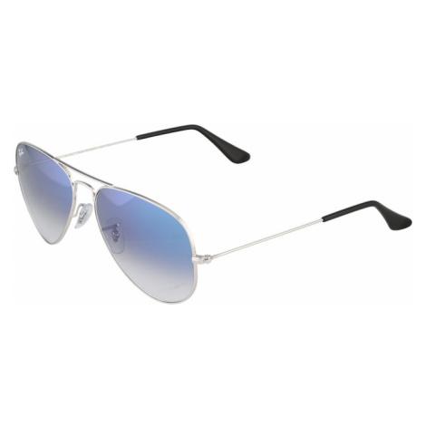 Ray-Ban Okulary przeciwsłoneczne 'Aviator' niebieski / złoty