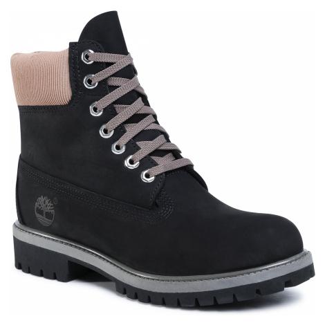 Trapery TIMBERLAND - Premium Waterproof Boot TB0A2NA1 Black Nubuk