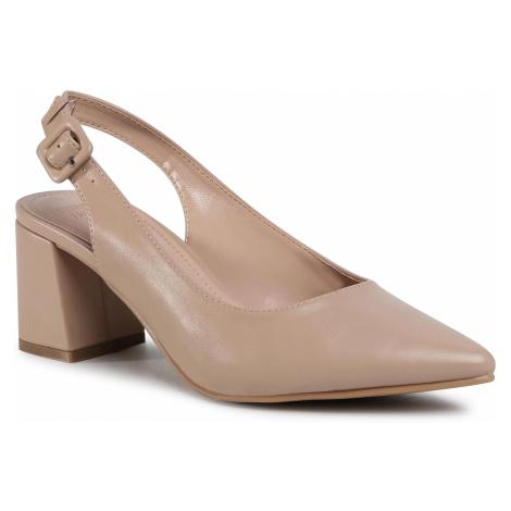 Sandały JENNY FAIRY - LS5213-06 Beige