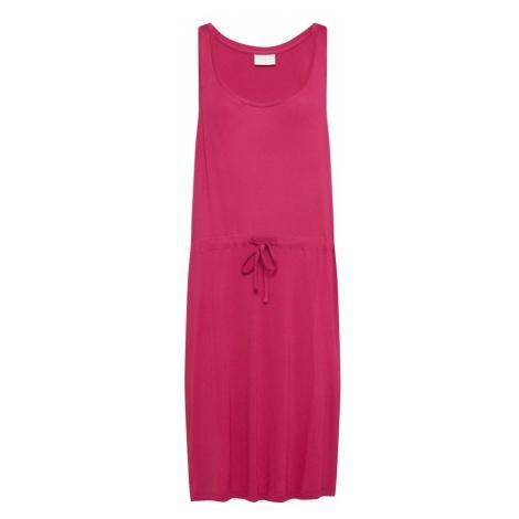 VILA Letnia sukienka cyklamen