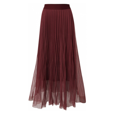 LAUREL Spódnica czerwono fioletowy
