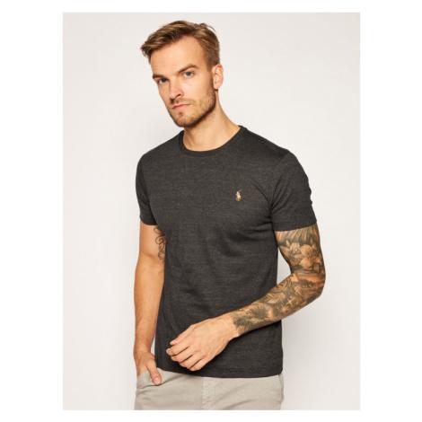 Polo Ralph Lauren T-Shirt Tsh 710740727032 Szary Slim Fit