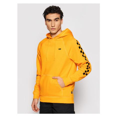 Vans Bluza Versa Hoodie VN0A3HPZ Żółty Regular Fit