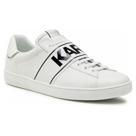 Sneakersy KARL LAGERFELD - KL51535 White Lthr
