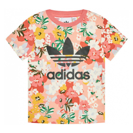 Adidas T-Shirt HER Studio London Floral GN2262 Kolorowy Regular Fit