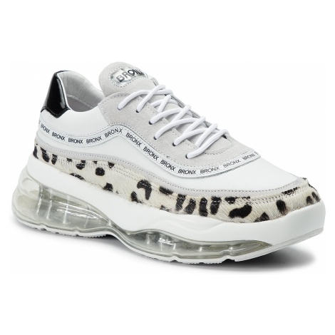 Sneakersy BRONX - 66260-HA BX 1562 Dalmation/White/Black 3025