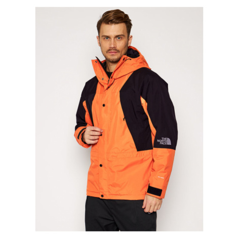 The North Face Kurtka outdoor Mountain Light NF0A3XY5EMJ1 Pomarańczowy Regular Fit