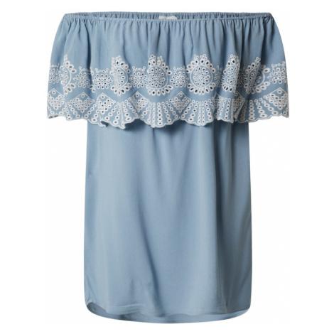 VILA Koszulka 'Latti' biały / niebieski
