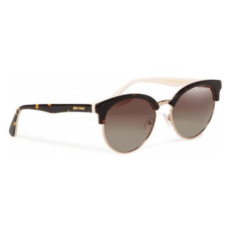 Gino Rossi Okulary przeciwsłoneczne O3WA-002-AW20 Brązowy