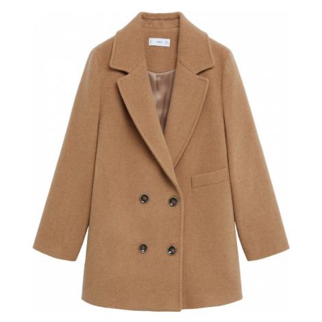 MANGO Płaszcz przejściowy 'Bella' jasnobrązowy